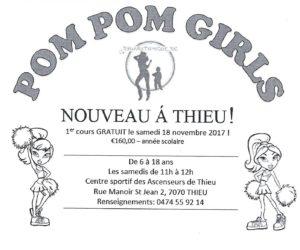 Cours de Pom Pom Girls