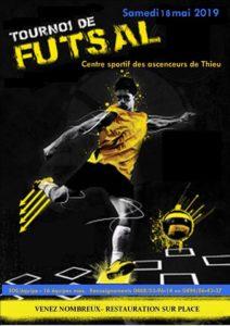 Tournoi Futsal organisé par Diabolix Bracquegnies le 18 mai prochain