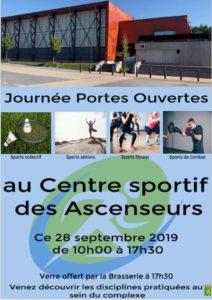Journée portes ouvertes au Centre sportif