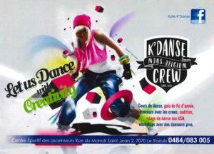 La rentrée avec K'Danse et son crew