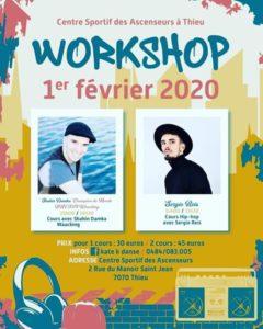 K'Danse : Workshop ce 1er février !